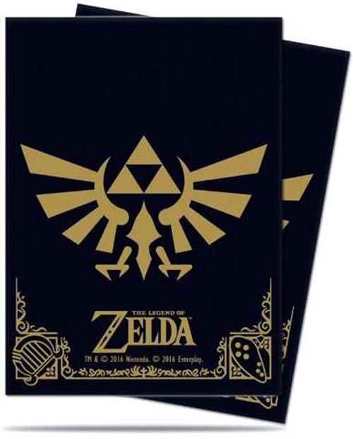 Ultra Pro Card Supplies Legend of Zelda Hylian Crest Standard Card Sleeves [65 Count]