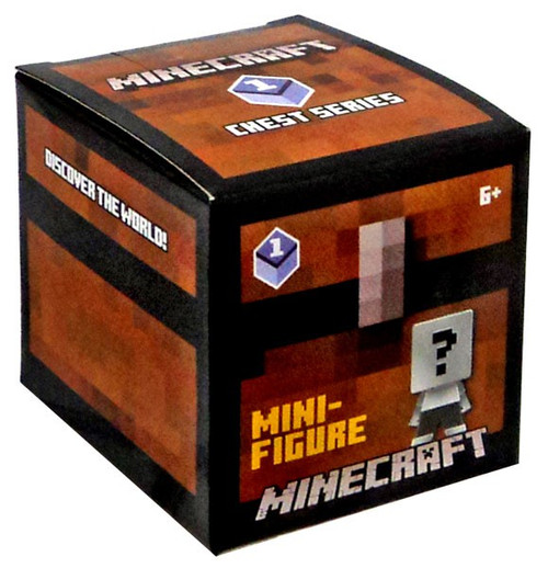 Minecraft Chest Series 1 (Purple) Mystery Pack [1 RANDOM Figure]