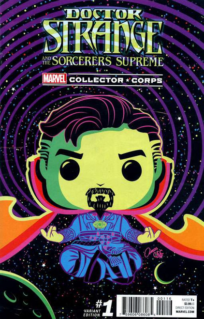 Marvel Comics Marvel Collector Corps Doctor Strange and the Sorcerers Supreme #01 Exclusive Comic Book [Variant Edition]