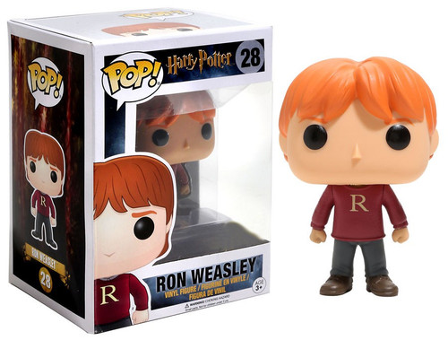 Funko Harry Potter POP! Movies Ron Weasley Exclusive Vinyl Figure #28 [R Sweater]