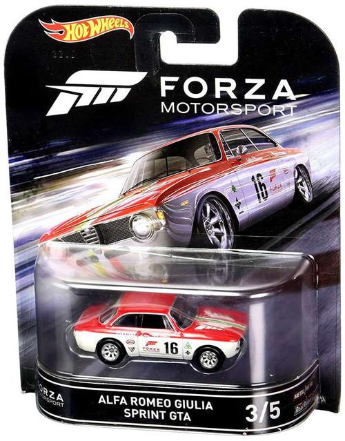 Hot Wheels Forza Motorsport Alfa Romeo Giulia Sprint GTA Die-Cast Car #3/5
