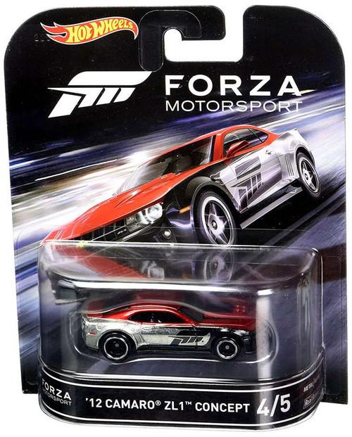 Hot Wheels Forza Motorsport '12 Camaro ZL1 Concept Die-Cast Car #4/5