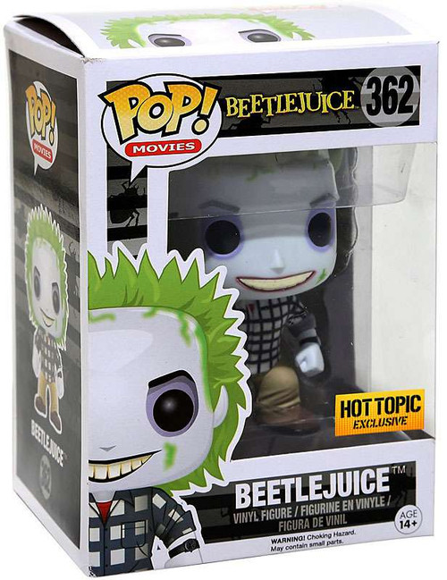 Funko POP! Movies Beetlejuice Exclusive Vinyl Figure #362 [Mystery Version]