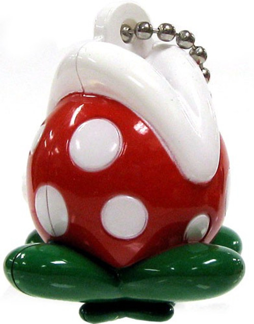 New Super Mario Wii Light Up Collection 2 Piranha Plant Keychain