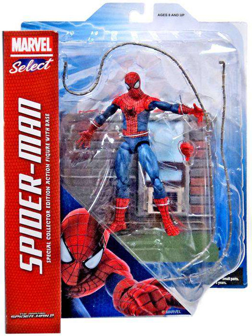 Amazing Spider-Man 2 Marvel Select Spider-Man Action Figure [No Fire Helmet, Damaged Package]