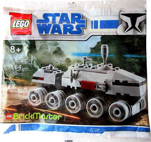 LEGO Star Wars Mini Clone Turbo Tank Exclusive Set #20006 [Bagged]