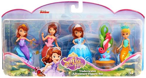 Disney Sofia the First Underwater Adventure 3-Inch Figure Set