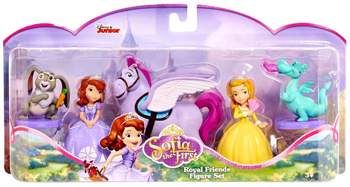 Disney Sofia the First Royal Friends 3-Inch Figure Set