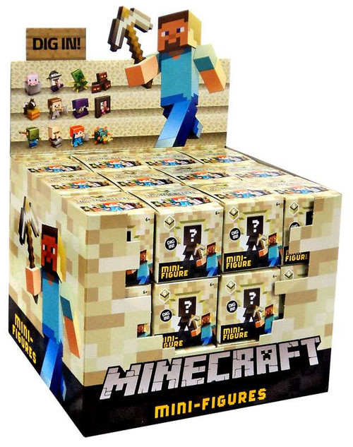 Minecraft End Stone Series 6 Mystery Box [36 Packs]