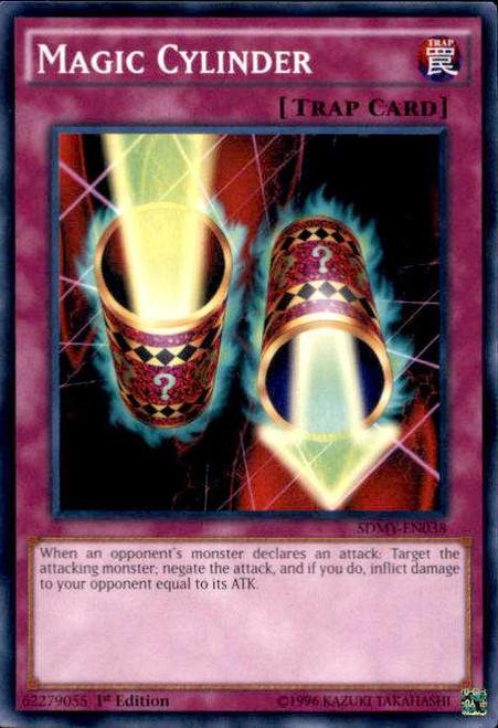 YuGiOh Yugi Muto Structure Deck Common Magic Cylinder SDMY-EN038