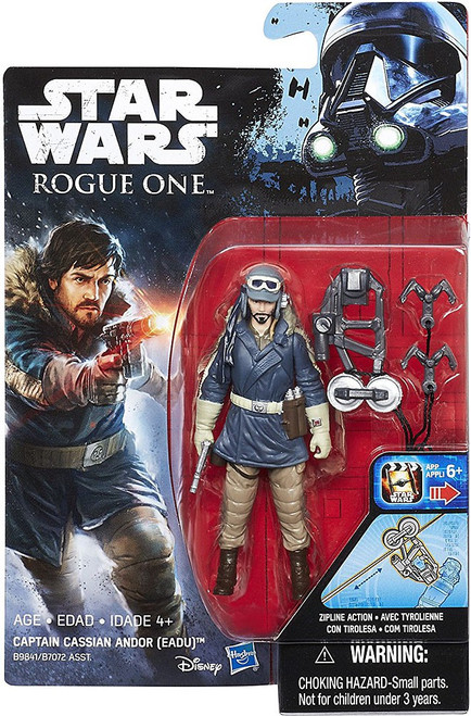 Star Wars Rogue One Captain Cassian Andor (Eadu) Action Figure [Zipline Action]