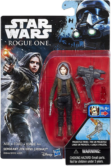 Star Wars Rogue One Sergeant Jyn Erso (Jedha) Action Figure [Projectile Firing]