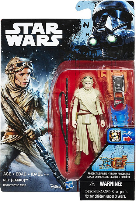 Star Wars The Force Awakens Rey (Jakku) Action Figure [Projectile Firing]