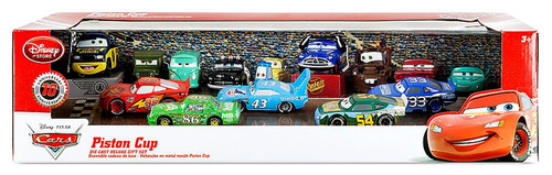 Disney / Pixar Cars 1:43 Deluxe Sets Piston Cup Deluxe Gift Set Exclusive [10th Anniversary]