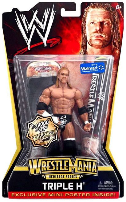 WWE Wrestling WrestleMania Heritage Series 2 Triple H Action Figure [with Chair]