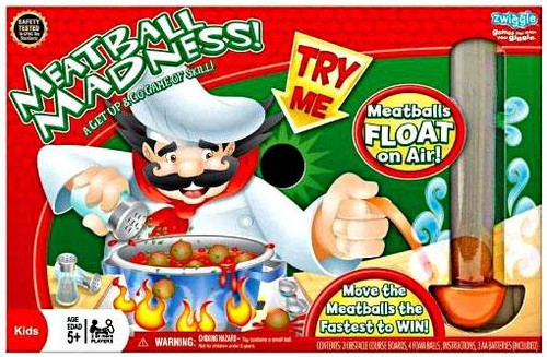 Zwiggle Meatball Madness Board Game