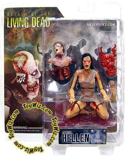 Attack of the Living Dead Afterlife Hellen Action Figure [Light Skin, Damaged Package]