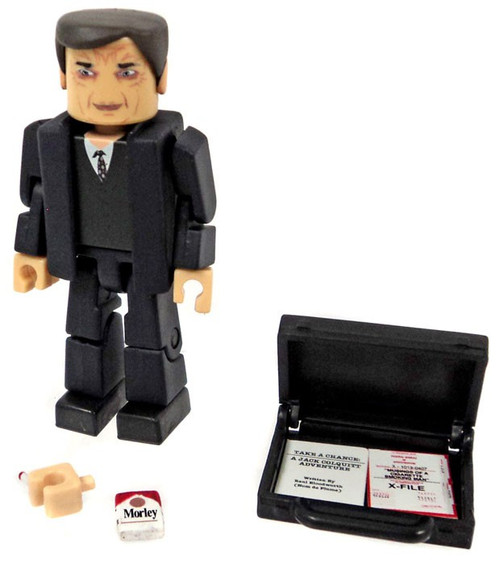 X-Files PALz Series 2 Cigarette Smoking Man Mini Figure [In Suit Loose]