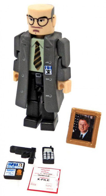 X-Files PALz Series 2 Assistant Director Skinner Mini Figure [Trenchcoat Loose]