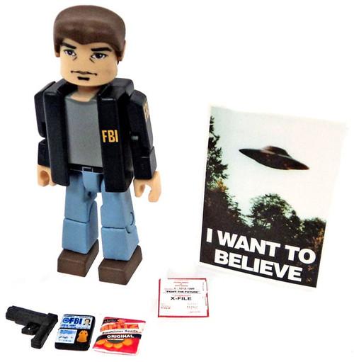 X-Files PALz Series 2 Agent Fox Mulder Mini Figure [FBI Jacket Loose]