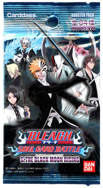 Bleach Trading Card Game The Black Moon Rising Booster Pack