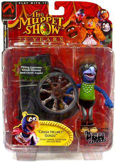 The Muppets The Muppet Show Gonzo Exclusive Action Figure [Crash Helmet, Damaged Package]