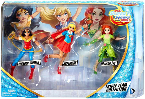 DC Super Hero Girls Triple Team Collection Action Figure 3-Pack