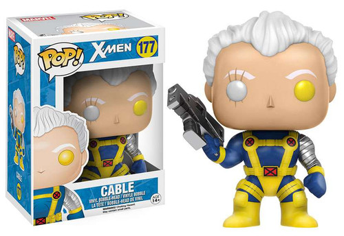 Funko X-Men POP! Marvel Cable Vinyl Bobble Head #177