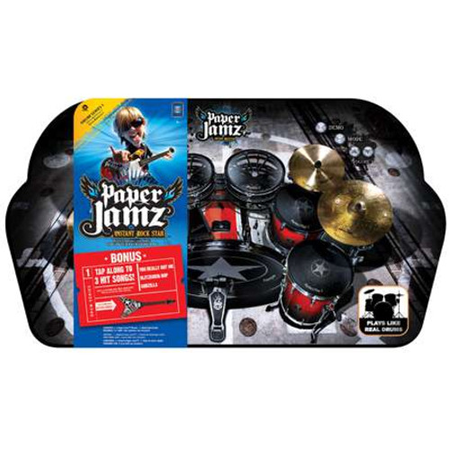 Paper Jamz Instant Rock Star Series 1 Style 4 Drums [You Really Got Me, Blitzkreig Bop & Godzilla]