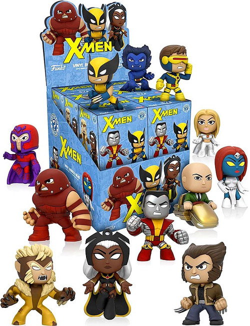 Funko Marvel Mystery Minis X-Men Mystery Box [12 Packs]