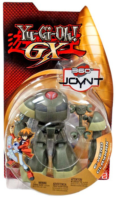 YuGiOh GX Trading Card Game 360 Joynt Series 1 Elemental Hero Clayman Action Figure