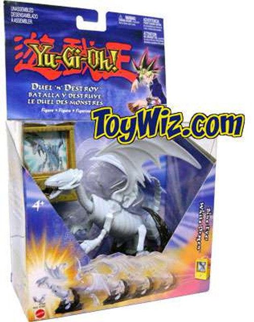 YuGiOh Duel N' Destroy Blue-Eyes White Dragon Action Figure