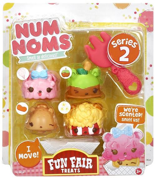 Num Noms Series 2 Fun Fair Treats Starter 4-Pack