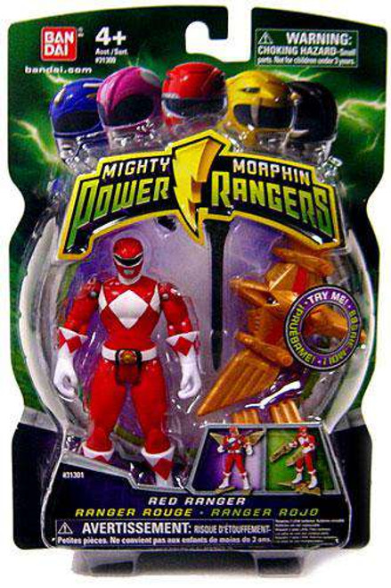 Power Rangers Mighty Morphin 2009 Red Ranger Action Figure
