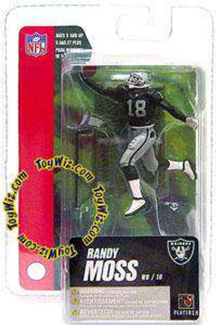 McFarlane Toys NFL Oakland Raiders Sports Picks Series 4 Mini Randy Moss 3-Inch Mini Figure