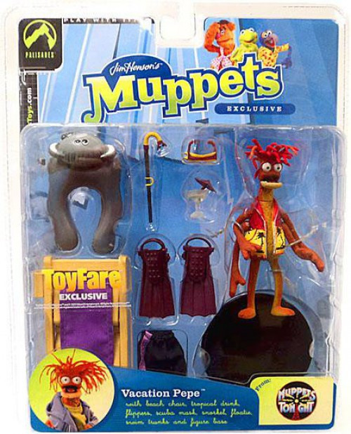 The Muppets Muppets Tonight Pepe Exclusive Action Figure [Vacation]