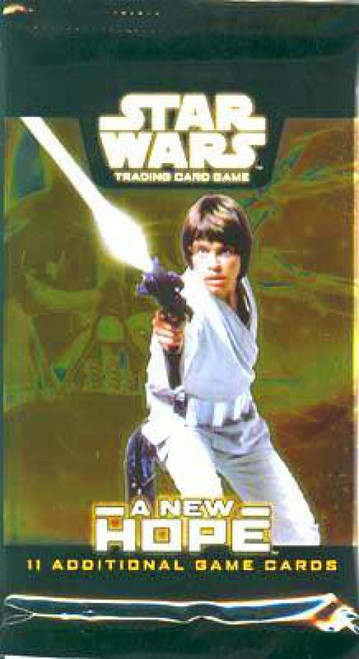 Star Wars Trading Card Game A New Hope Booster Pack [11 Cards]