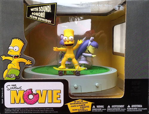 McFarlane Toys The Simpsons Movie Doodle Double Dare Action Figure Set
