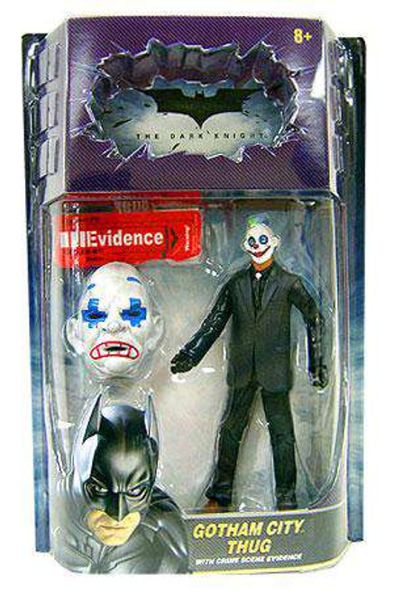 Batman The Dark Knight Crime Scene Evidence Gotham City Thug Action Figure [Sad Mask, Plus Painted Eyes]