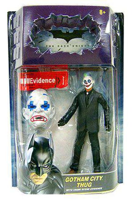 Batman The Dark Knight Crime Scene Evidence Gotham City Thug Action Figure [Sad Mask, Plus Painted Eyes]