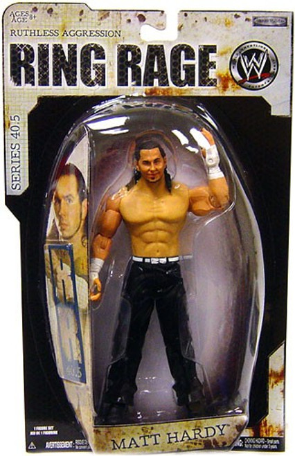 WWE Wrestling Ruthless Aggression Series 40.5 Ring Rage Matt Hardy Action Figure