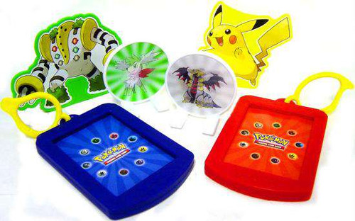 Burger King Pokemon 6 Piece Card Holder Set [Loose]