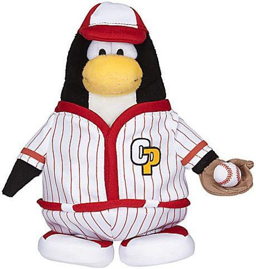 Club Penguin Series 7 Baseball Player 6.5-Inch Plush Figure