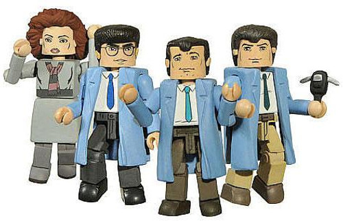 Ghostbusters Minimates We're Ready to Believe You Exclusive Minifigure 4-Pack