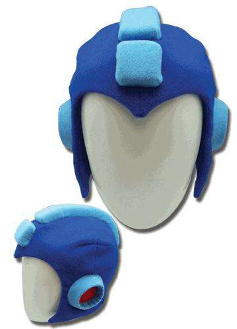 Mega Man Helmet Plush Cosplay Costume