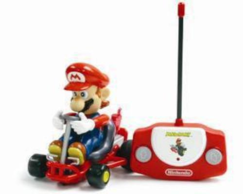 Super Mario Mario Kart Mario R/C Vehicle [Damaged Package]