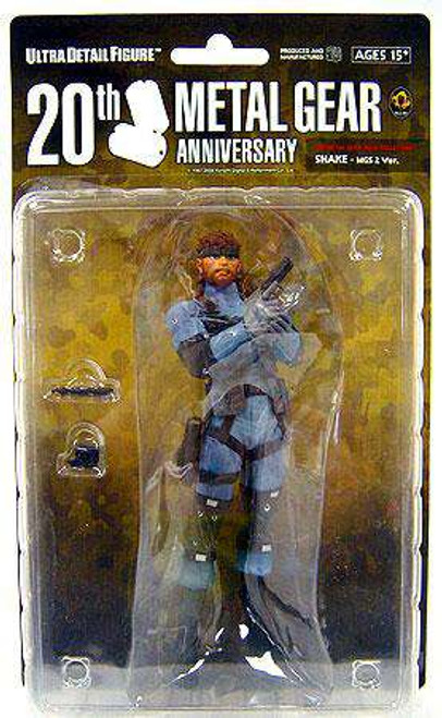 Metal Gear Solid Snake 7-Inch Collectible Figure [MGS2, Loose]