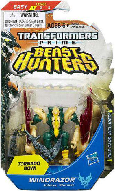 Transformers Prime Beast Hunters Windrazor Legion Action Figure [Damaged Package]