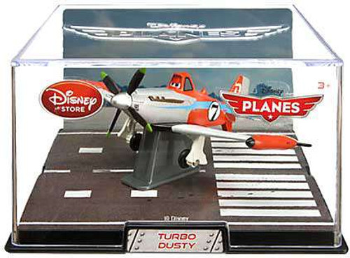 Disney Planes Dusty Exclusive Diecast Vehicle [Turbo, Loose]
