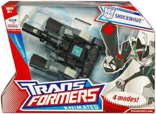 Transformers Animated Shockwave Voyager Action Figure [Damaged Package]
